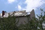 Непогода в Дзержинске: сорванные крыши и поваленные деревья