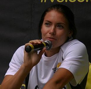 Алина Талай рассказала об Олимпиаде и провела мастер-класс в Минске