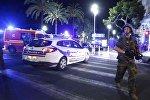 Ницца после террористической атаки