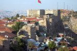 Вид на цитадель в Анкаре