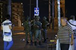 Военные на улицах Стамбула