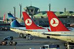 Самолеты Turkish Airlines, архивное фото