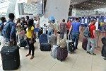 Пассажиры отмененного рейса Минск - Стамбул