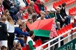 Болельщики на матче Кубка Дэвиса Беларусь- Латвия