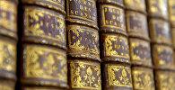 Старинные книги в хранилище старопечатных книг Национальной библиотеки Беларуси