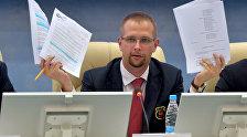 Генеральный секретарь НОК Беларуси Анатолий Котов
