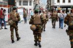 Солдаты в центре Брюсселя