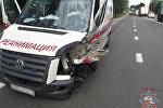 Разбитая машина скорой