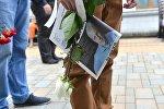 Спецвыпуск Народной воли к похоронам погибшего в Киеве белорусского журналиста Павла Шеремета