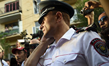 Валерий Осипян, замначальника Полиции Еревана