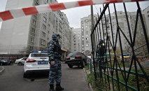 Работа московской полиции, архивное фото