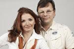 Белорусские писатели Евгения Пастернак и Андрей Жвалевский