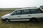 Автомобиль, попавший в аварию