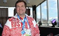 Четырехкратный олимпийский чемпион, президент Всероссийской федерации плавания Владимир Сальников