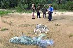 Задержанные на Вилейском водохранилище браконьеры