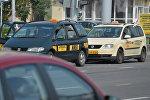 Такси на улицах Минска