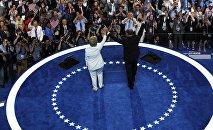 Выступление Хиллари Клинтон на съезде демократов