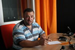 Лидер профсоюза таксистов Центр Александр Стаховский