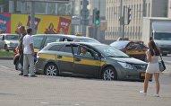 Автомобиль такси в Минске