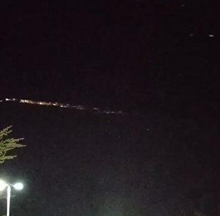 СПУТНИК_НЛО над США: над Америкой пролетели останки китайской ракеты Великий поход-7