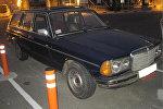 Машина, в которой была спрятана контрабанда