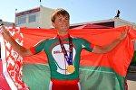 Белорусский велогонщик Василий Кириенко