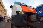 Электропоезд компании Stadler  - ЭПм - 001