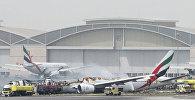Пожар в аэропорту Дубая