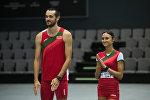 Ольга Мазуренок и Максим Нестеренко показали спортивную форму белорусских атлетов в Рио