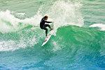 Серфингист цна Открытом чемпионате США