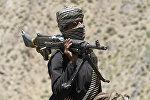 Боевик радикального движения Талибан