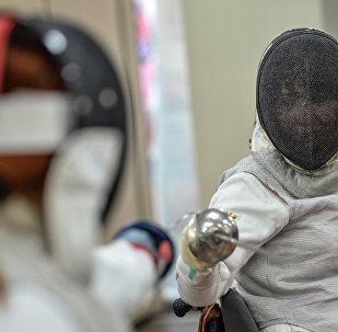 Член сборной России по фехтованию на колясках Ксения Овсянникова