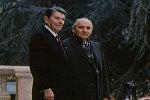 Спутник_Первая встреча лидеров СССР и США Горбачева и Рейгана. Съемки 1985 года