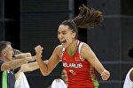 Белорусская баскетболистка Татьяна Лихтарович