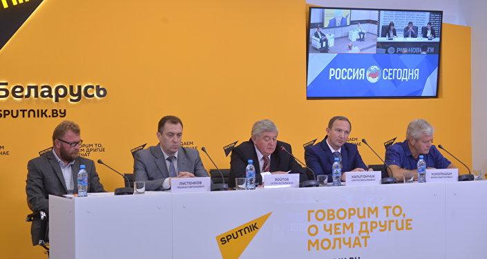 Видеомост Минск-Москва-Астана о сотрудничестве вузов ЕАЭС