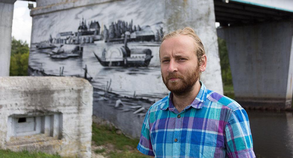 Граффитист из Пинска: первой расписал стену, где меня когда-то словили