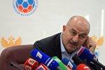 Главный тренер футбольной сборной России Станислав Черчесов