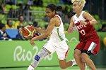 Матч Беларусь - Турция на ОИ-2016 в Рио-де-Жанейро