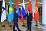 Рабочая поездка премьер-министра РФ Д. Медведева в ЮФО
