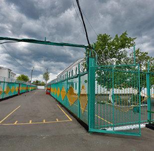 Двор тюрьмы. Архивное фото