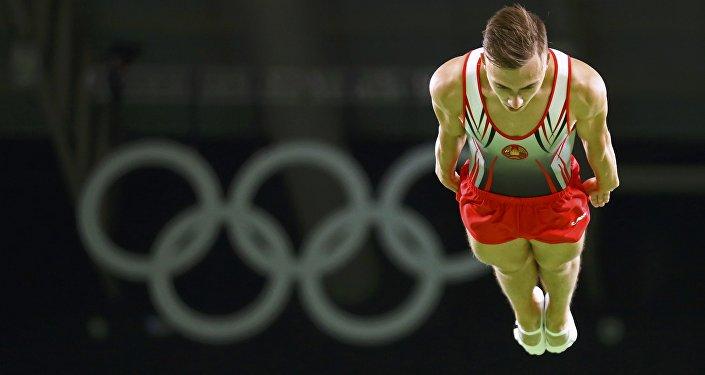 Владислав Гончаров - прыжки на батуте
