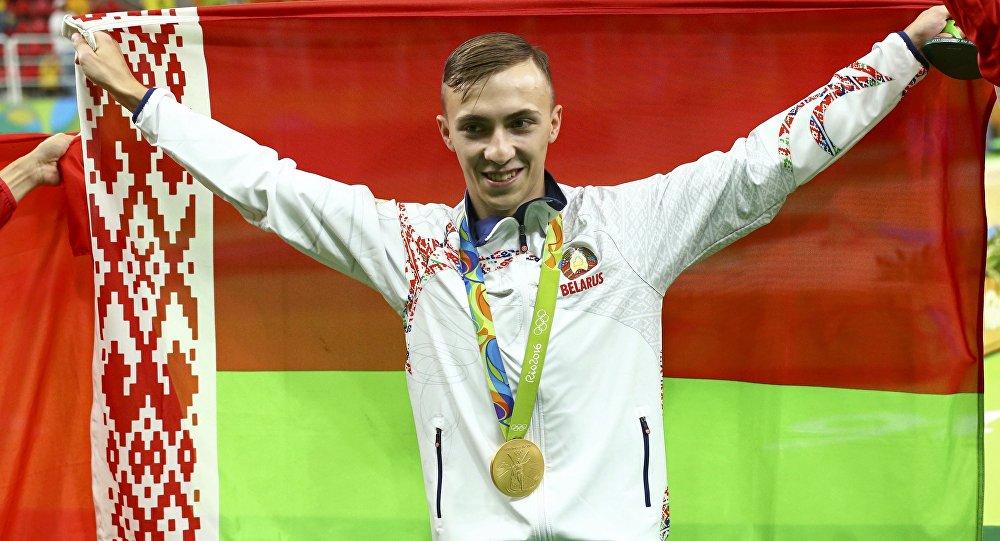 Первое «золото»— белорус Гончаров стал олимпийским чемпионом впрыжках набатуте