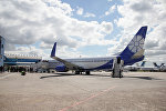 Самолет авиакомпании Белавиа, архивное фото