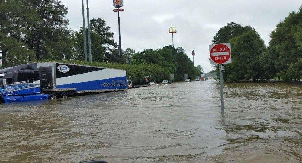 Из-за наводнения вЛуизиане эвакуированы 7 тыс. человек