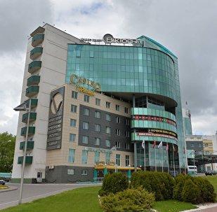 Гостиница Виктория в Минске. Архивное фото