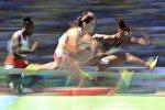 Алина Талай, полуфинал 100 м с барьерами