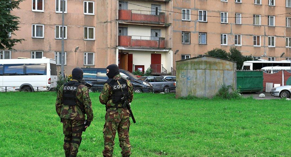 Вжилом доме Петербурга закончилась спецоперация ФСБ