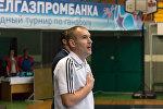Тренер команды по мини-футболу Львовской таможни Сергей Федорчук