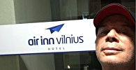 Олег Газманов в аэропорту Вильнюса