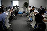 Сотрудники офиса в Китае